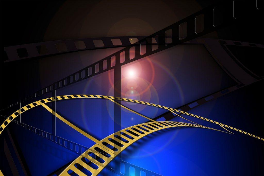 bande de cinéma, film, vidéo