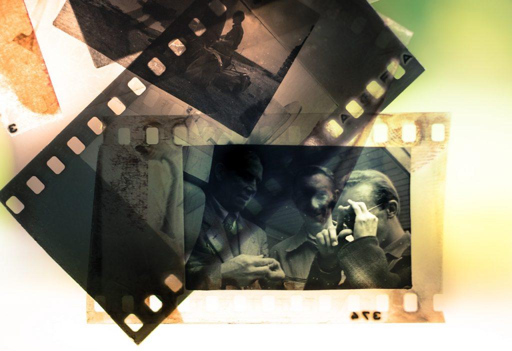 glisser, analogique, la photographie