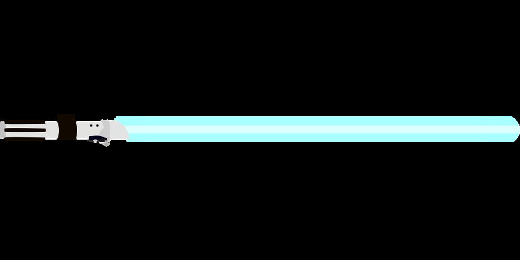 sabre laser, star wars, jedi