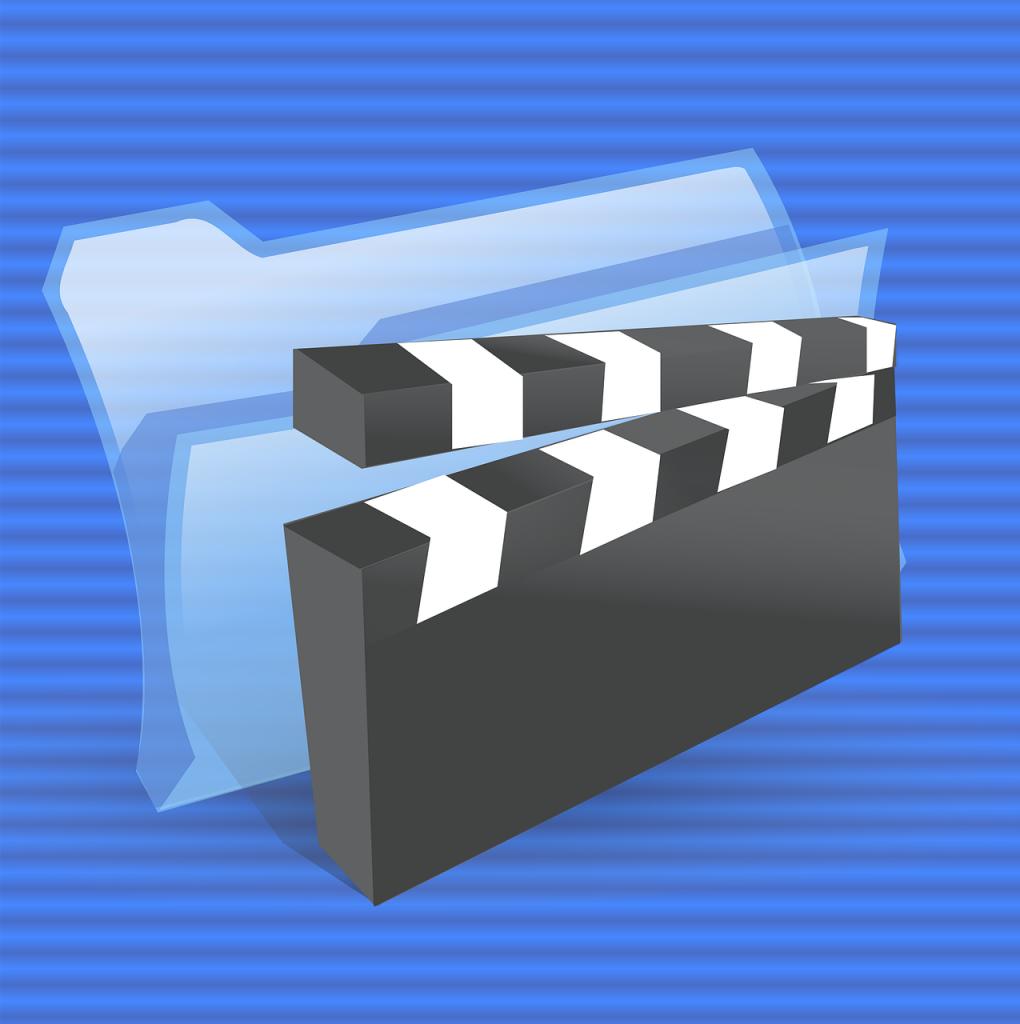 vidéo, multimédia, icône
