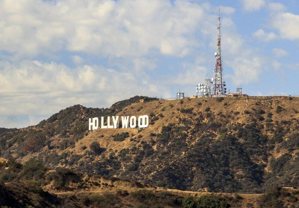 hollywoodien, signer, symbole